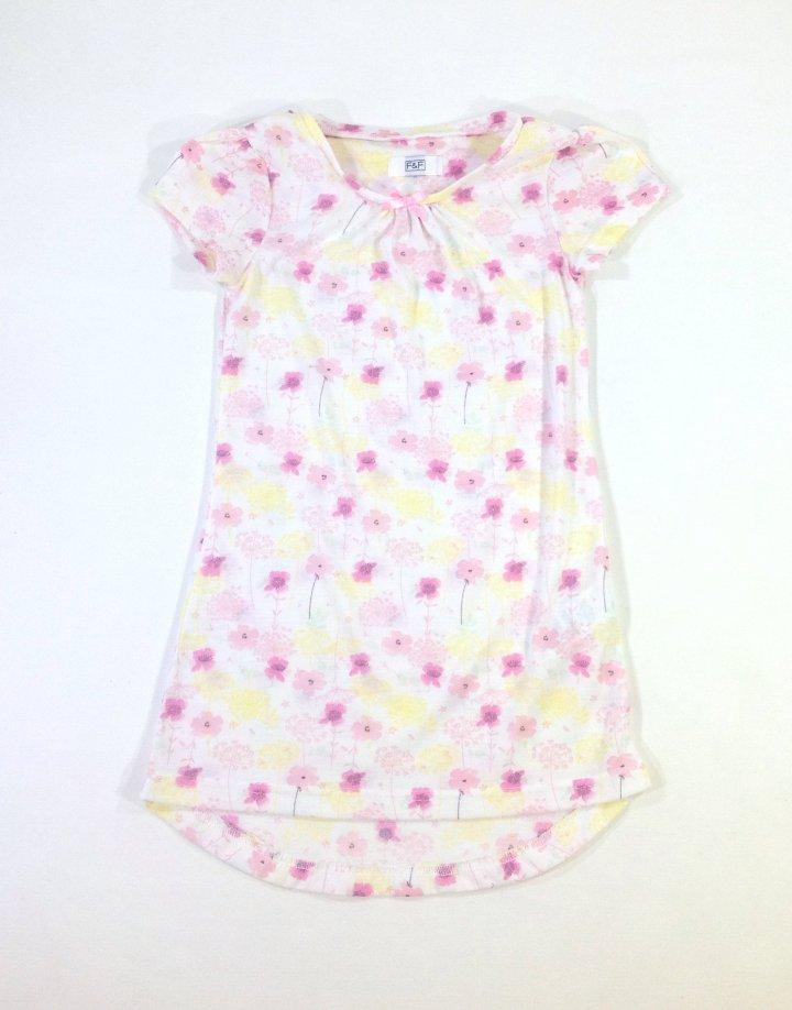 F F virág mintás kislány ruha   b60160a63f