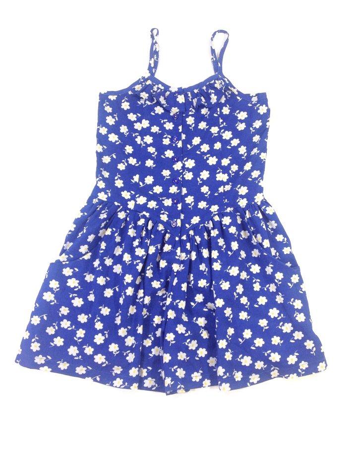 Y.d virág mintás rövidnadrágos kislány ruha
