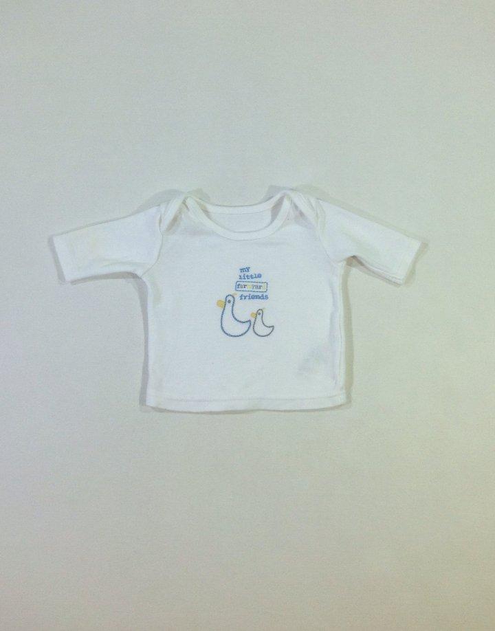 Marks&Spencer kacsa mintás baba felső