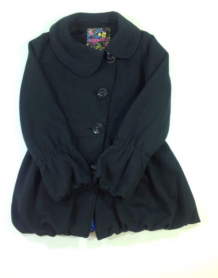 Generation fekete kislány hagyma átmeneti kabát   d70a219cae