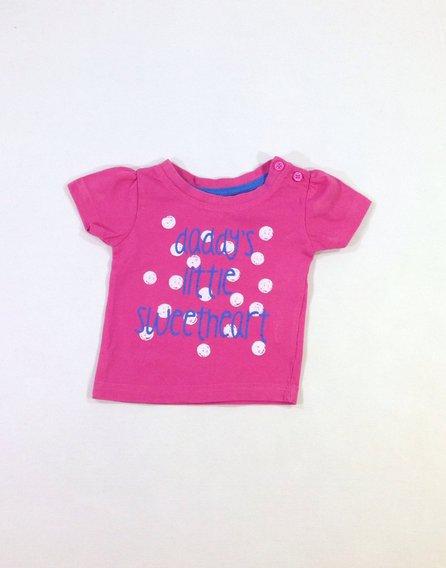 Mckenzie márka feliratos rózsaszín baba póló  ca2bfb27d5