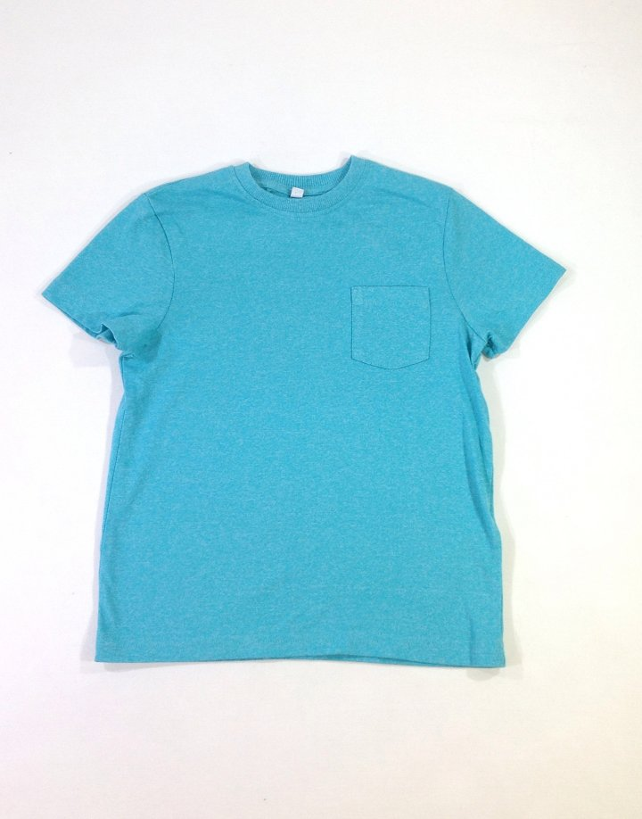 Marks&Spencer türkiz színű kisifiú póló