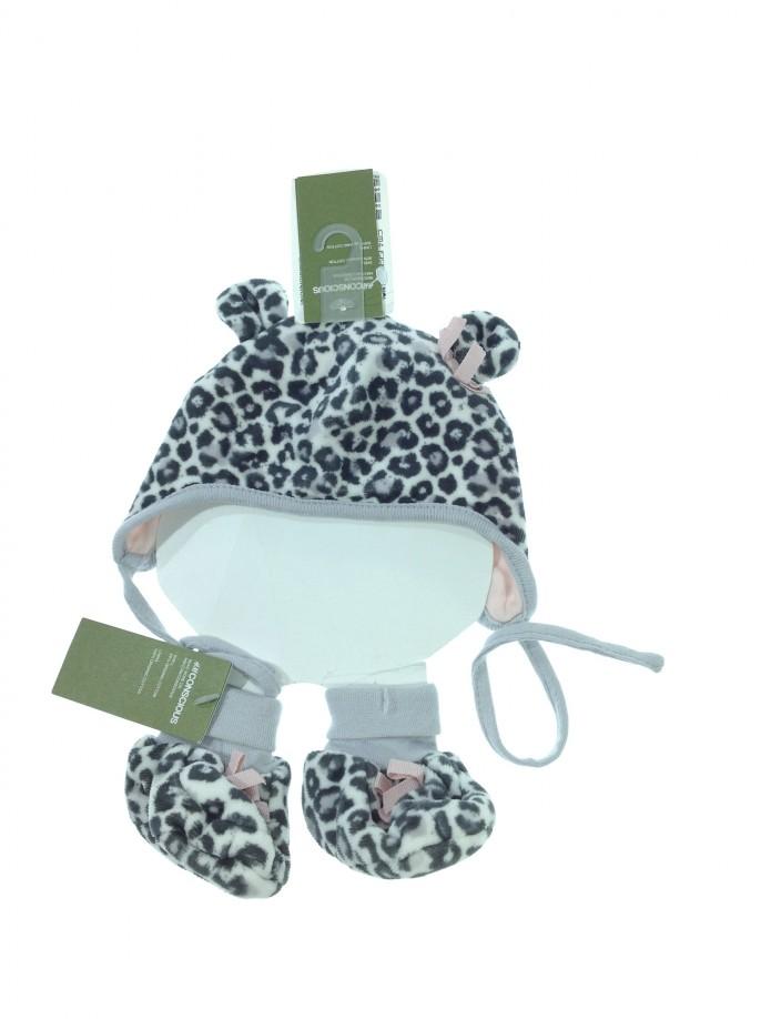 H&M leopárd mintás sapka zoknival