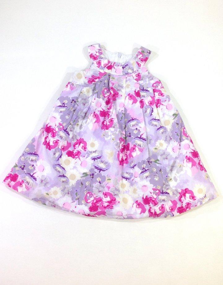 Early days virág mintás baba ruha