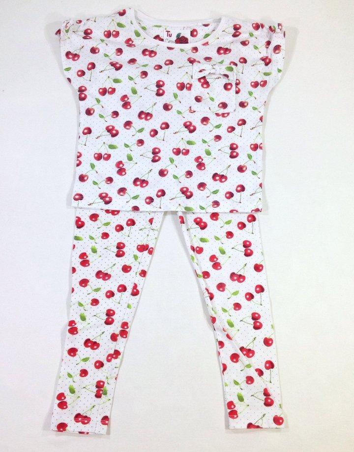 bc8342d13c Tu cseresznye mintás kislány pizsama ?