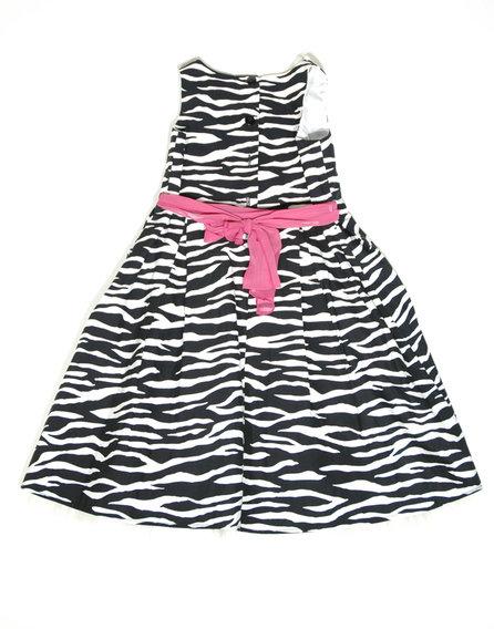 St.Bernard zebra mintás ruha