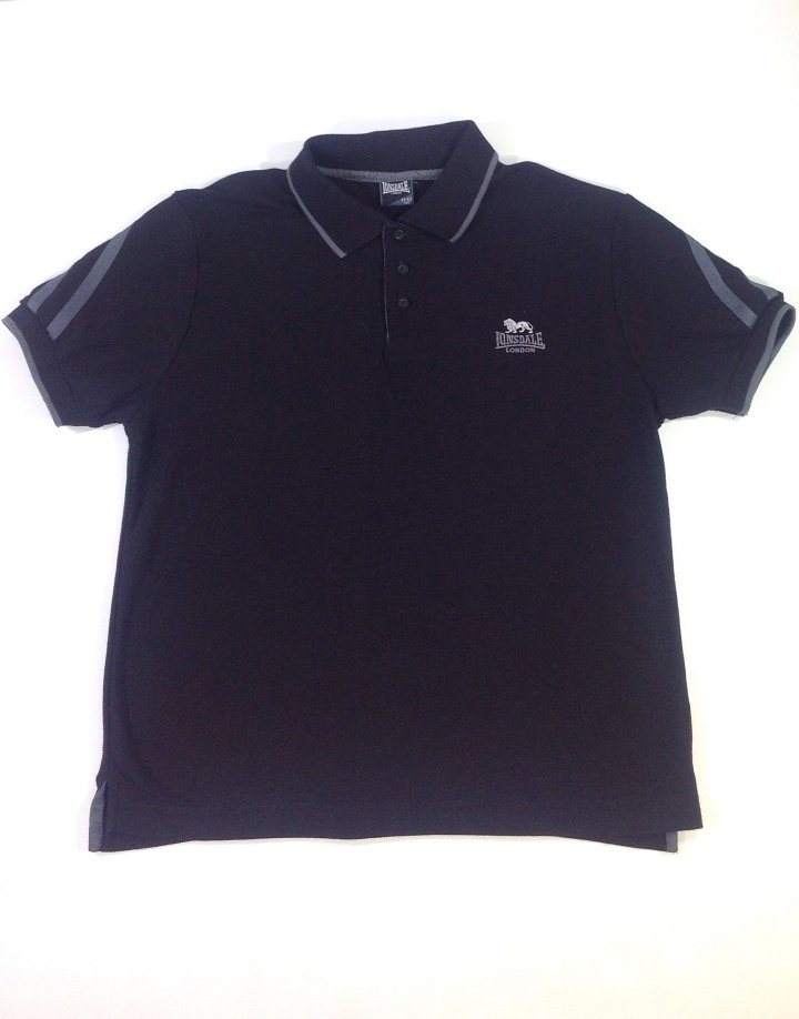 Lonsdale fekete fiú póló   3b0fe4009e