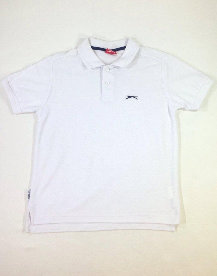 Slazenger fehér fiú póló