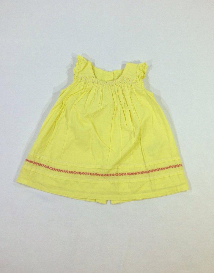 Marks&Spencer citromsárga baba ruhácska