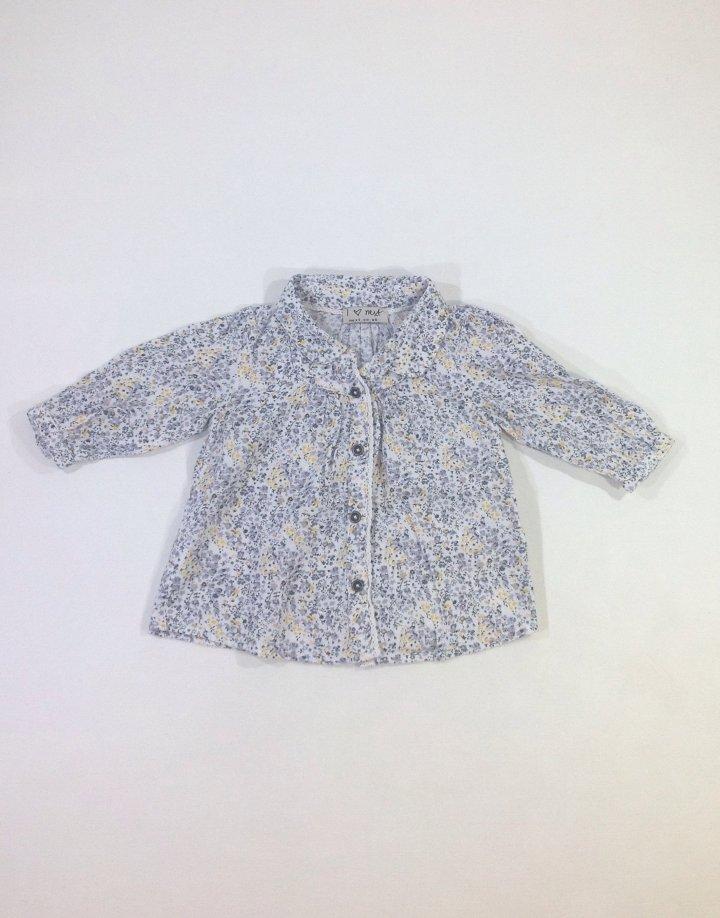 Next apró virág mintás baba ing