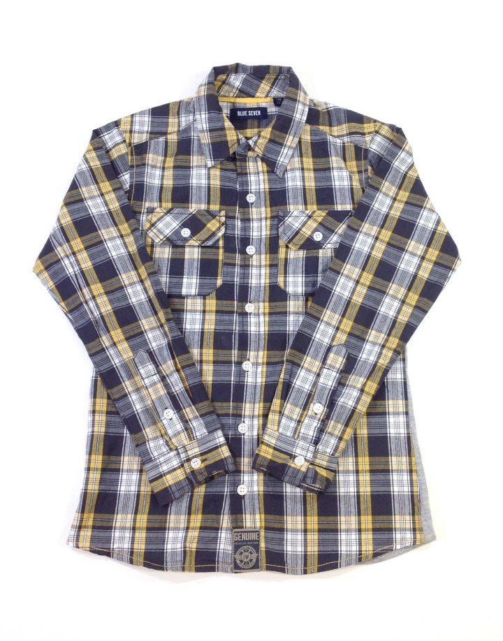 Blue Seven kockás fiú ing