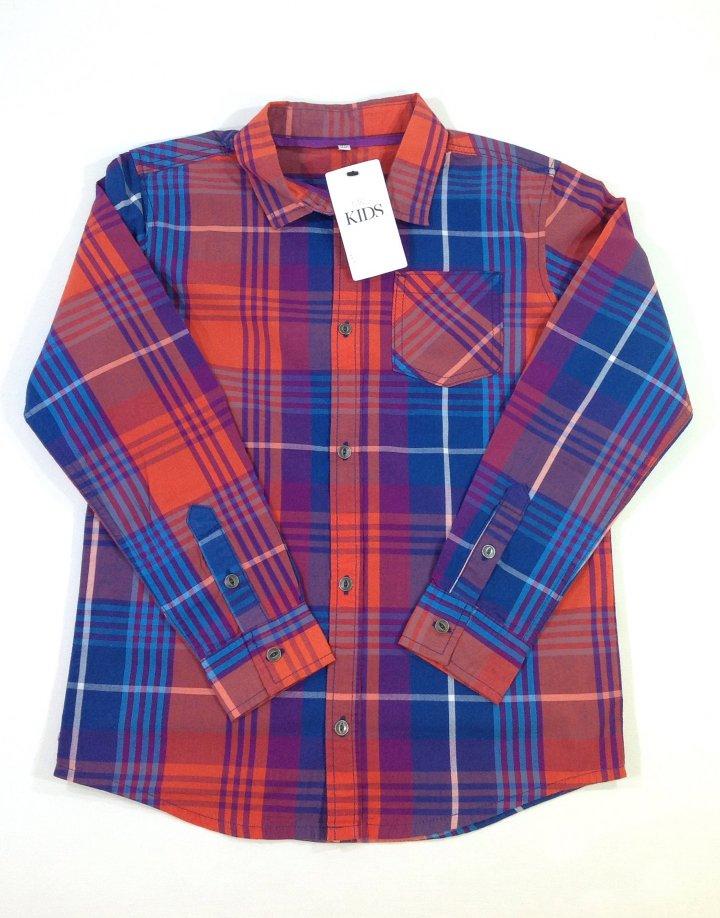 Marks&Spencer színes kockás fiú ing