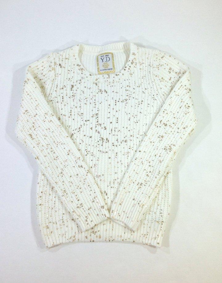 Y.d kislány kötött pulóver