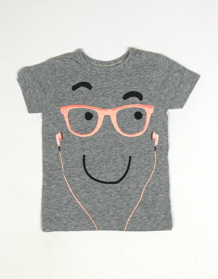 NEXT vidám mintás kislány póló
