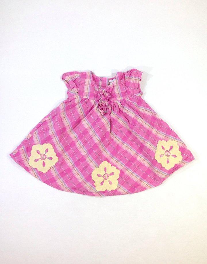 Bluezoo virág mintás baba ruha