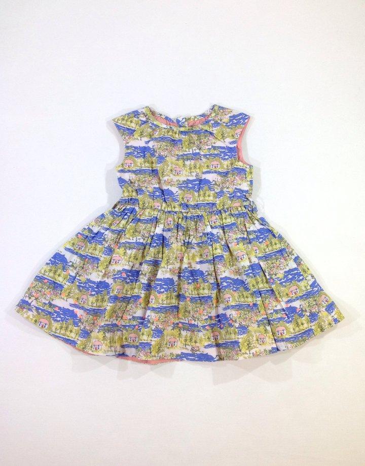 Marks&Spencer házikó mintás kislány ruha