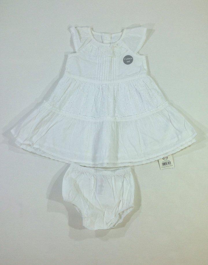 George kislány fehér alkalmi ruha bugyival   412104ef24