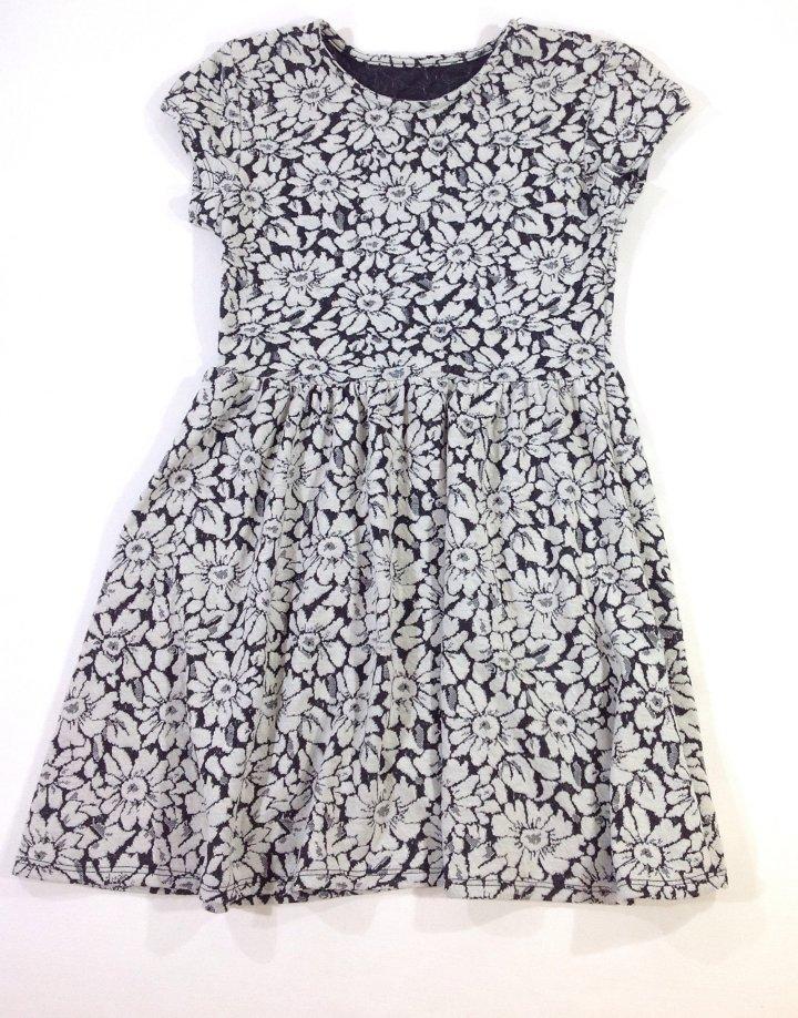 St.Bernard virág mintás kislány ruha