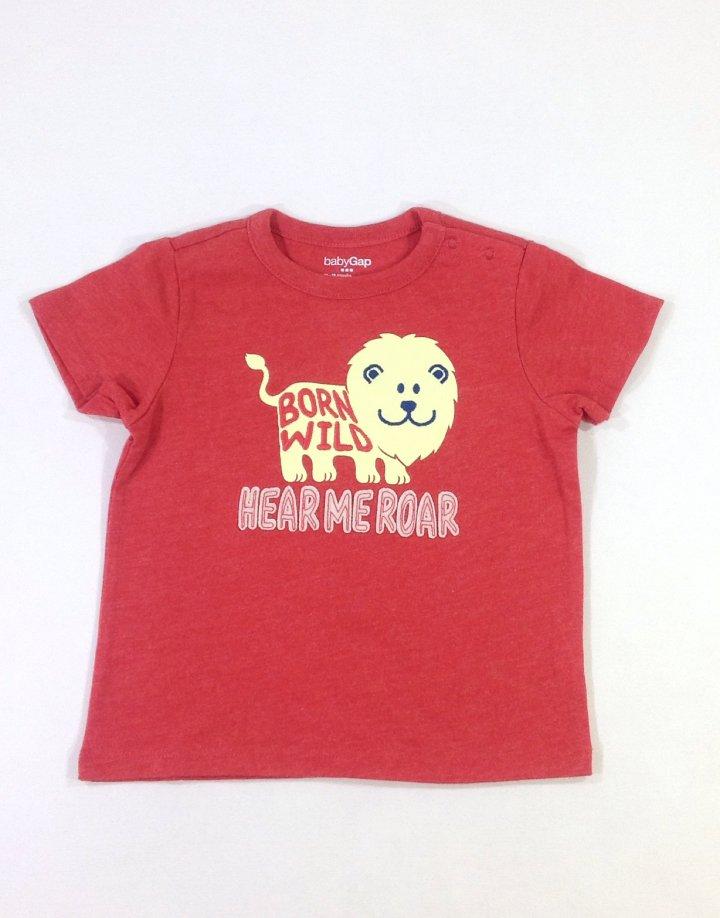 Gap oroszlán mintás baba póló