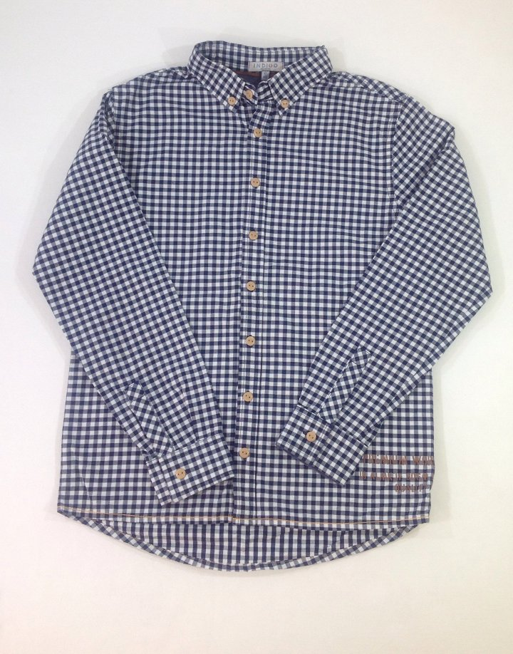 Marks&Spencer kockás fiú ing
