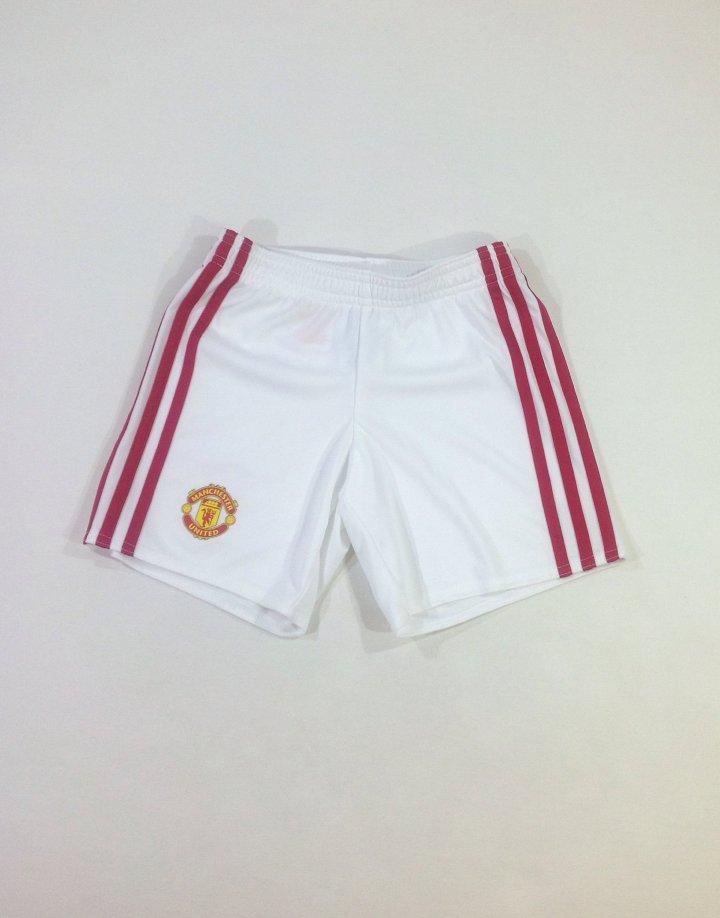 Adidas fehér kisfiú rövidnadrág
