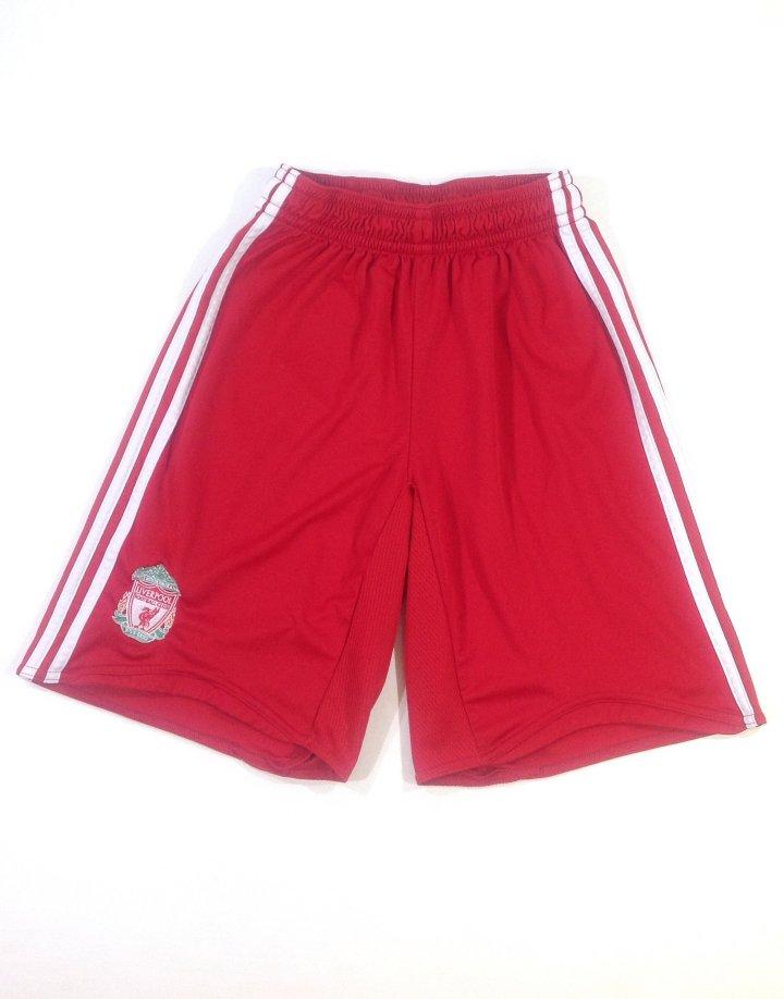 Adidas piros fiú rövidnadrág