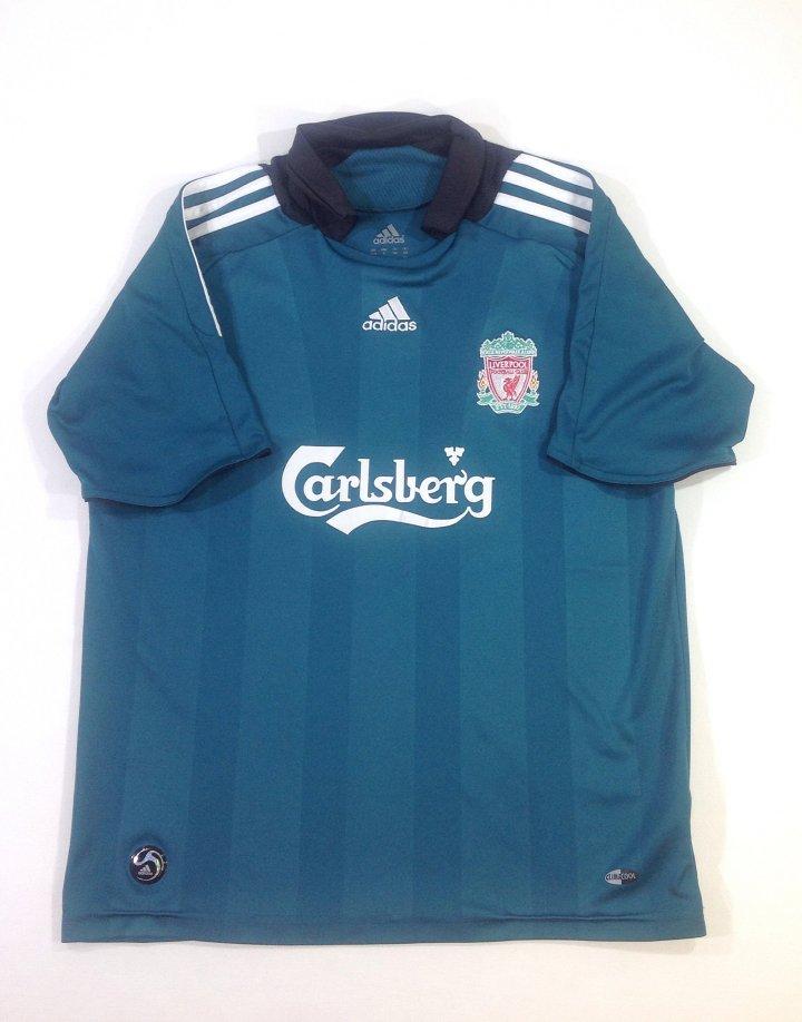 Adidas varrott Liverpool mintás fiú póló