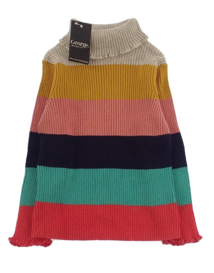 Geroge kislány kötött pulóver