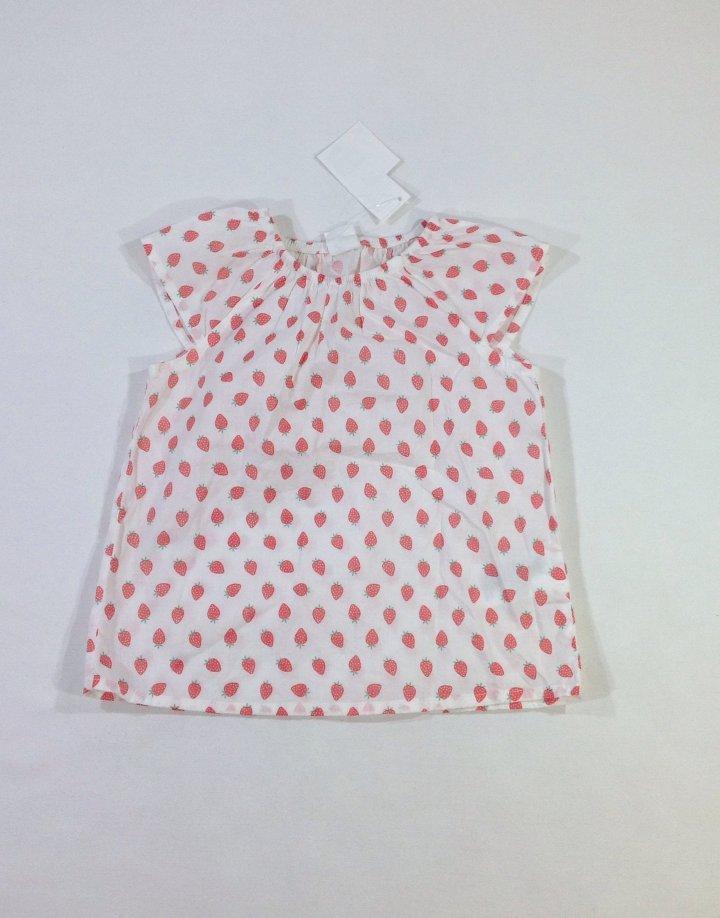 H&M szamóca mintás kislány póló