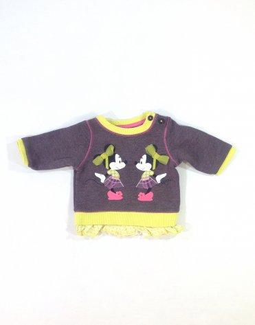 George Minnie mintás baba pulóver