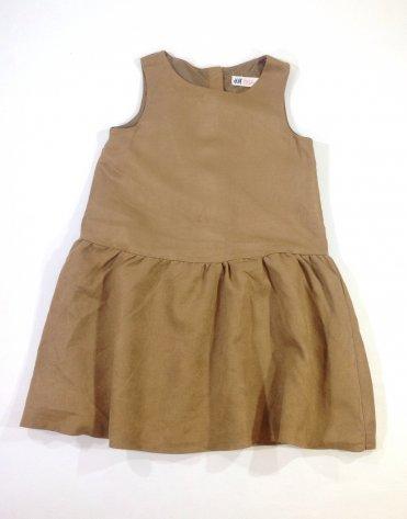 H M barna kislány alkalmi ruha   1b23e429fc