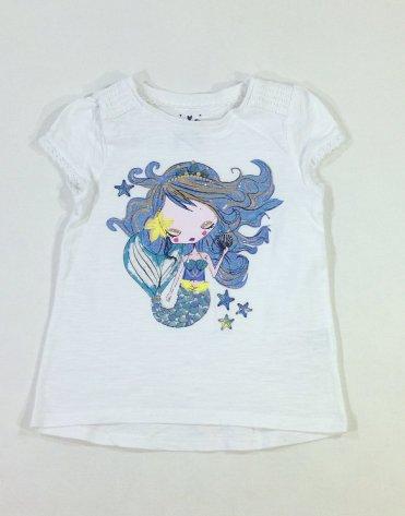 F&F sellő mintás baba póló