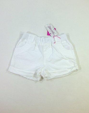 Miss E-vie fehér kislány rövidnadrág