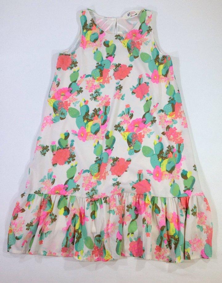 H&M virág mintás muszlin ruha