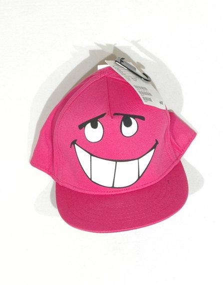 Smiley-s kislány baseball sapka