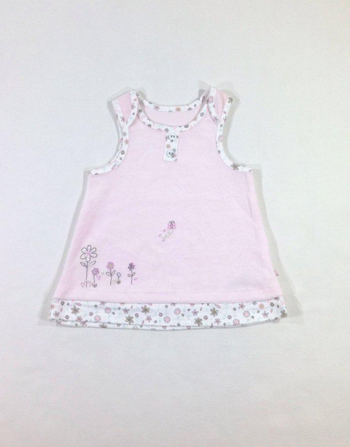 Marks&Spencer rózsaszín baba ruha