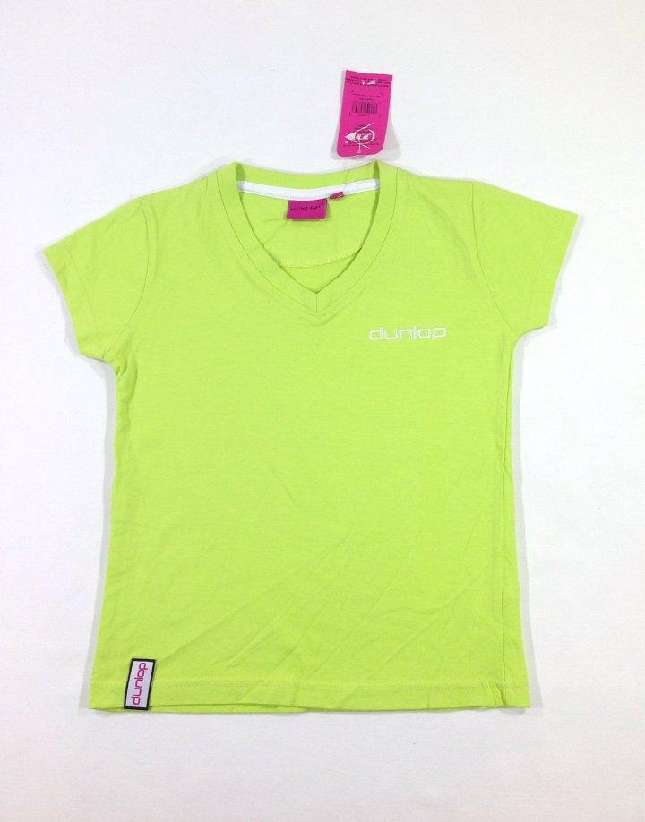 Dunlop almazöld kislány póló