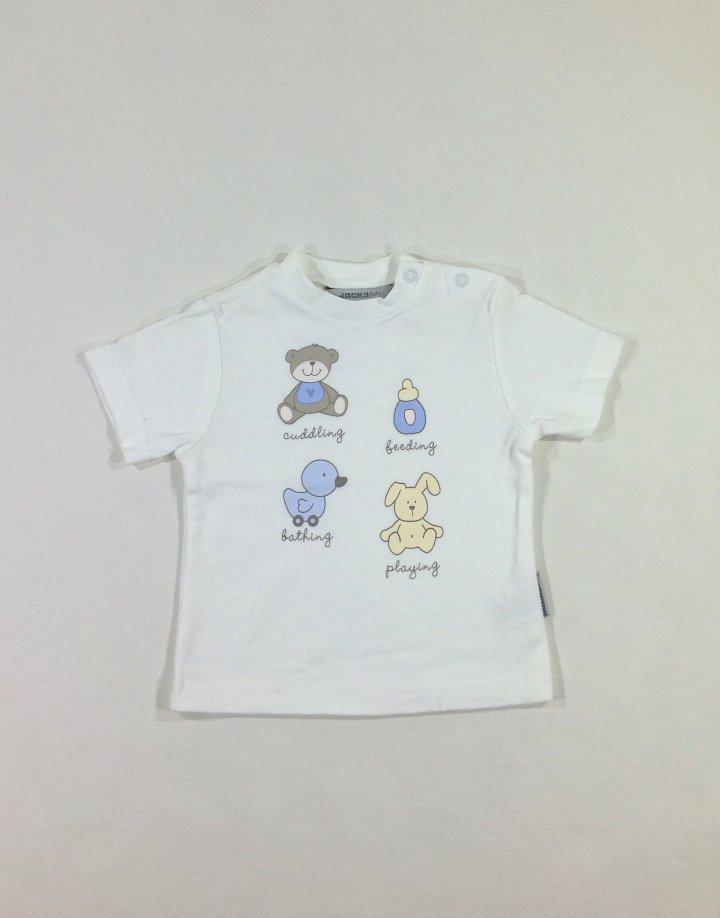Jacky Baby állatkás baba póló