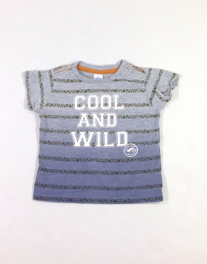 Baby Club nyomott feliratos baba póló