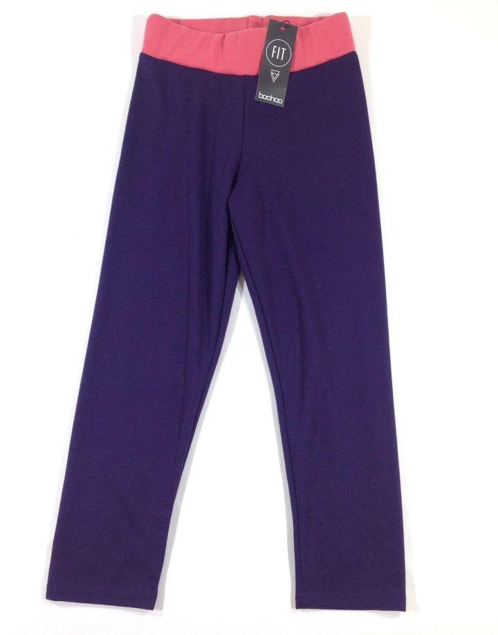 Boohoo lila kislány leggings