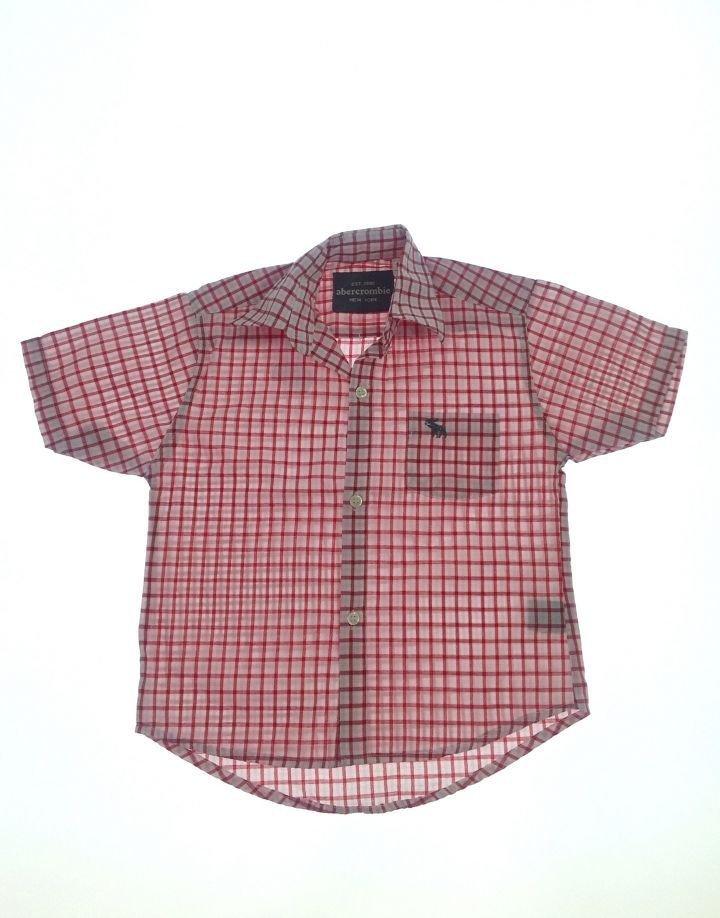 Abercrombie kockás fiú ing