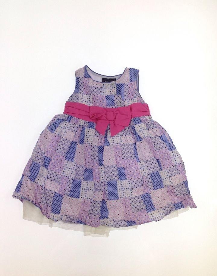 Miss CG apró mintás kislány ruha