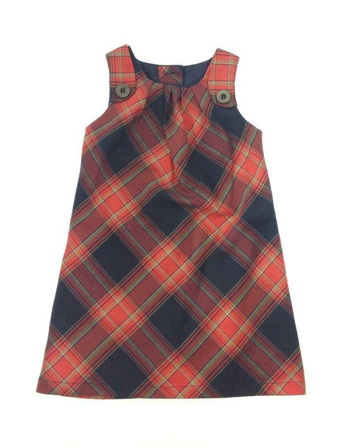 Next kockás kislány ruha   47569e5043
