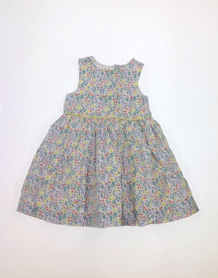 Y.dapró virág mintás kislány ruha