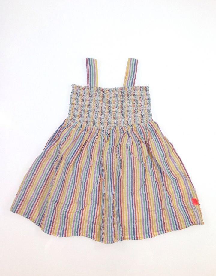 Little Bird csíkos kislány ruha