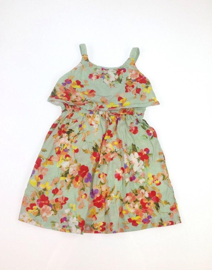 Zara virág mintás kislány ruha   45ad5e1efd