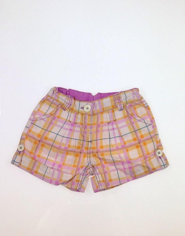 Next kockás lányka rövidnadrág