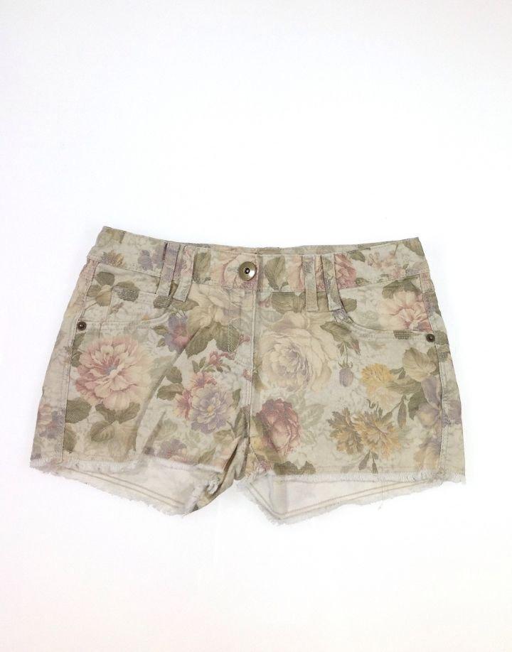 Marks&Spencer virág mintás farmer kislány rövidnadrág