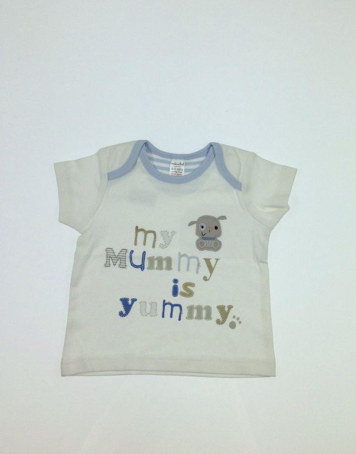 Miniclub kutya mintás baba póló