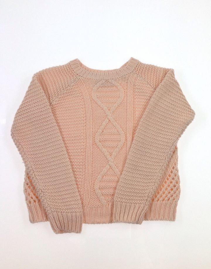 YD kötött kislány pulóver